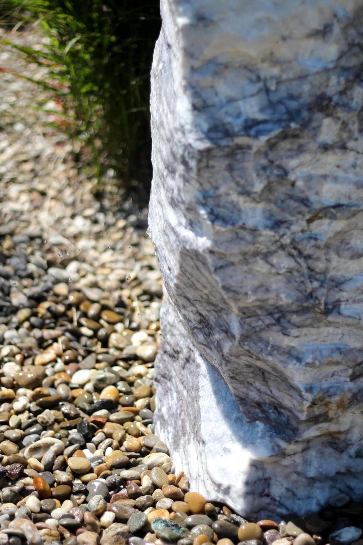 Wasserspiel set naturstein quellstein marmor 100 brunnen gartenbrunnen ebay - Gartenbrunnen set stein ...