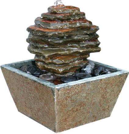 zimmerbrunnen rock 20 feng shui schiefer brunnen ebay. Black Bedroom Furniture Sets. Home Design Ideas