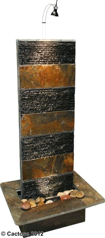 zimmerbrunnen bando 130 feng shui schiefer brunnen inkl beleuchtung 39350b1l. Black Bedroom Furniture Sets. Home Design Ideas