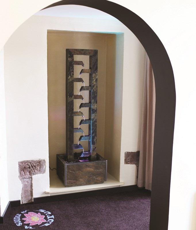 zimmerbrunnen cascade 180 lex feng shui schieferbrunnen. Black Bedroom Furniture Sets. Home Design Ideas