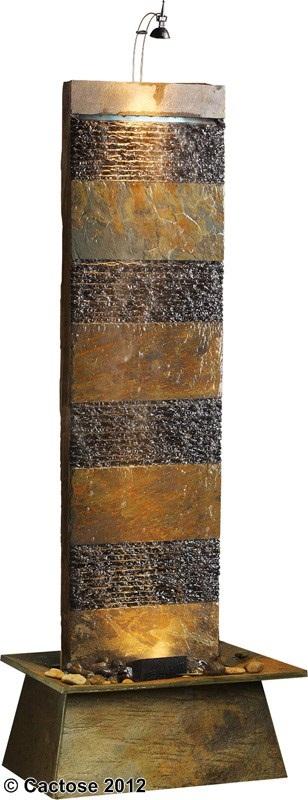 zimmerbrunnen bando 180 feng shui schieferbrunnen wasserwand inkl beleuchtung 7623m2l. Black Bedroom Furniture Sets. Home Design Ideas