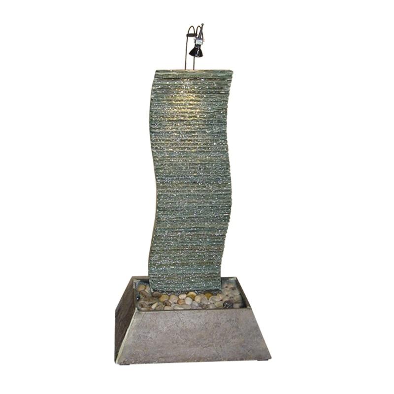 zimmerbrunnen dune 74 feng shui brunnen wasserwand 7660ml. Black Bedroom Furniture Sets. Home Design Ideas