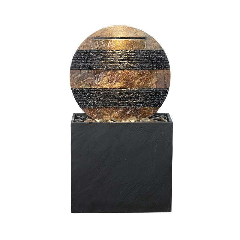 zimmerbrunnen stripes 115 feng shui brunnen wasserwand. Black Bedroom Furniture Sets. Home Design Ideas
