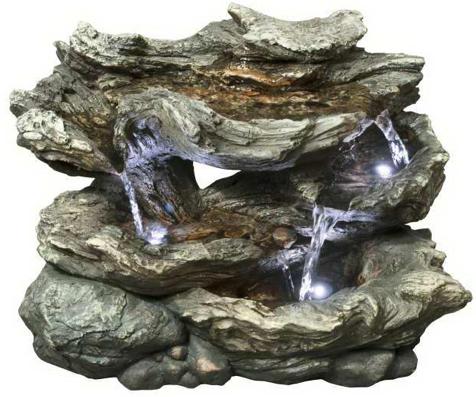 zimmerbrunnen mizum polystone wasserfall wasserspiel. Black Bedroom Furniture Sets. Home Design Ideas