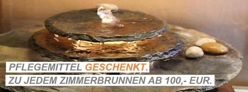 Brunnenk nig im heimbacher hof - Naturstein zimmerbrunnen ...