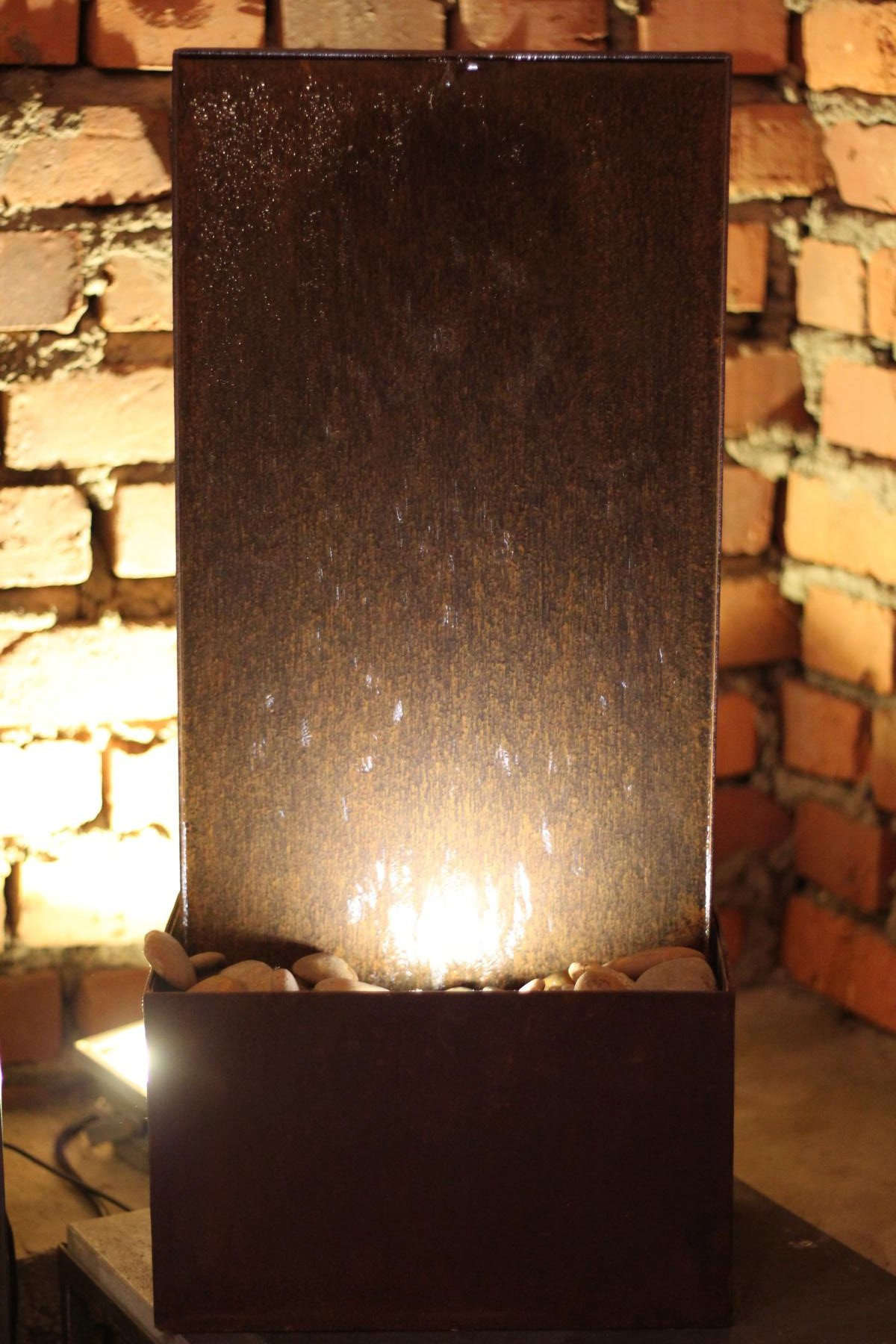 zimmerbrunnen cordon 60 brunnen wasserwand aus. Black Bedroom Furniture Sets. Home Design Ideas