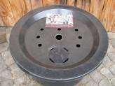PE Becken mit GFK Deckel Ø 66 cm 90 Liter für Quellsteine Wasserspiele Zierbrunnen