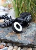 LED Ring Brunnen Steine 18 SMD LED für Wasserspiel Quellstein 50 mm