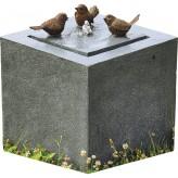 AUSSTELLUNGSSTÜCK - NUR ABHOLUNG! Vogeltreff Quelle 46 Polystone Springbrunnen