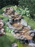 Bachlauf Hong He 2 tlg. Polystone Wasserfall Bachlaufschalen