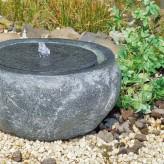 Qius Quelle D41cm Polystone Brunnen Steinoptik Gartenbrunnen Springbrunnen