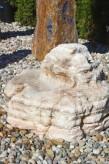 Wasserspiel SET Quellstein Findling L70cm Onyx Marmor Gartenbrunnen