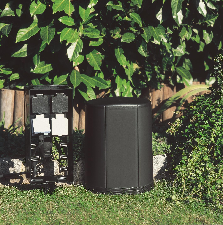 oase inscenio fm profimaster gartensteckdose mit fernbedienung cleveres strommanagement f r. Black Bedroom Furniture Sets. Home Design Ideas