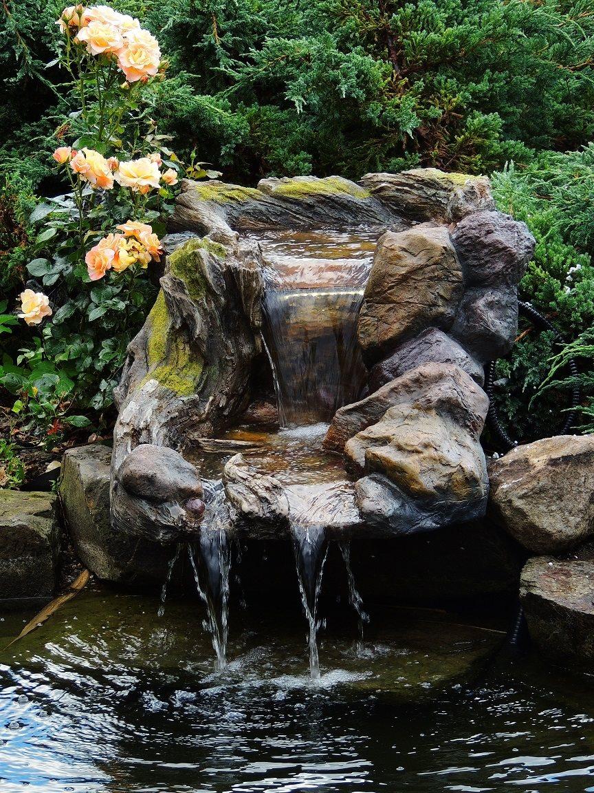 Polystone Wasserfall Bachlaufschalen Bachlauf Hong He 2 tlg