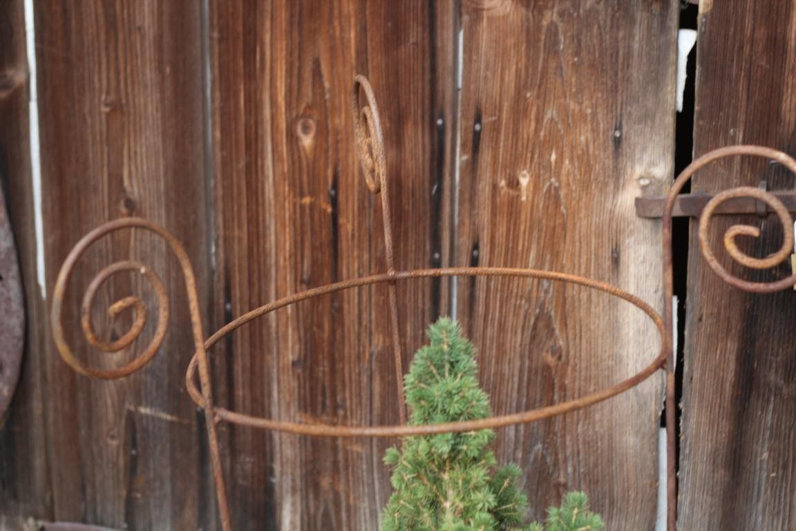Staudenhalter edelrost gartenstecker pflanzhilfe for Edelrost gartenstecker