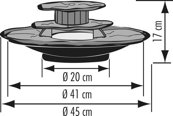 zimmerbrunnen kasumi feng shui schieferbrunnen inkl. Black Bedroom Furniture Sets. Home Design Ideas