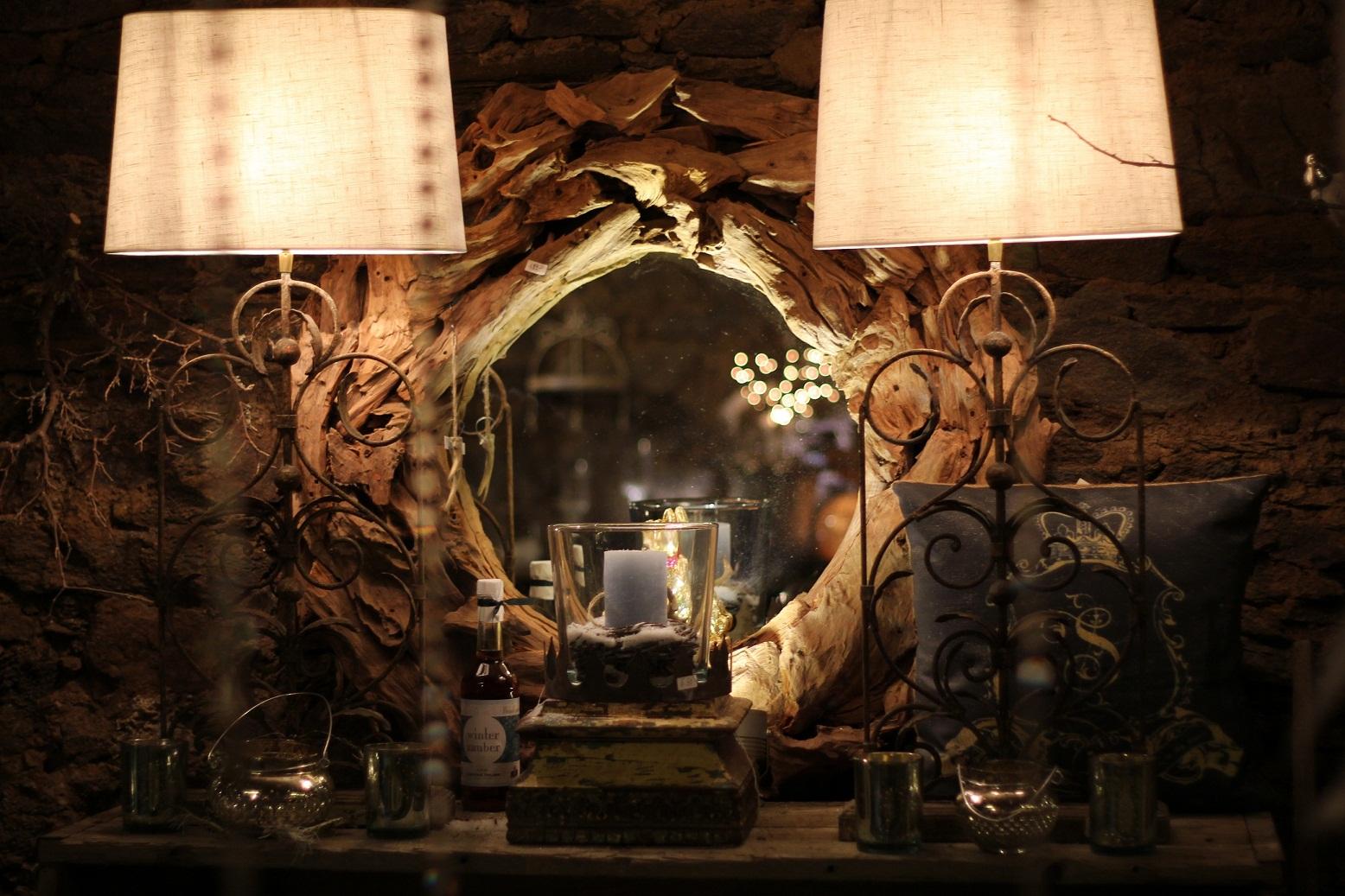 spiegel extreme wood von 39 riverdale 39 treibholz teakholz vintage landhaus 100100701. Black Bedroom Furniture Sets. Home Design Ideas