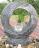 Wasserspiel SET Mond Quellstein Granit anthrazit Gartenbrunnen mit dreh. Glaskugel