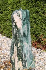 Wasserspiel kpl. SET: Quellstein Marmor Artik green 88 inkl. Pumpe Becken   Springbrunnen