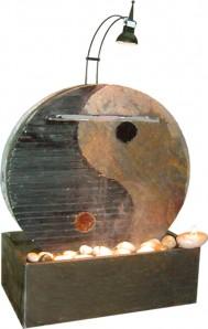 Zimmerbrunnen Ying Yang 40 | Feng Shui Schieferbrunnen