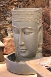 Springbrunnen Buddha 85 Polystone Brunnen inkl. Pumpe