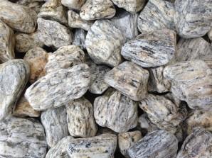 """Ziersteine/Zierkies """"Grundpreis 3,99€/kg"""" Tiger Yellow Pebbles 2-4cm im 10 kg Sack"""