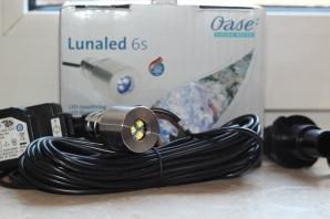3er SET OASE LunaLed 6 s | 6 LED weiß Beleuchtung Quellstein