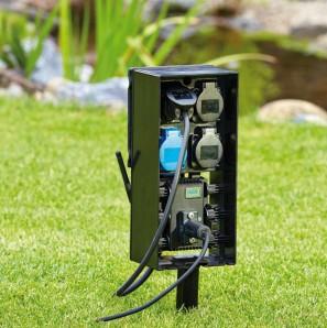 InScenio FM-Master EGC Home Oase Gartensteckdose via App mit Tablet oder Smartphone steuerbar