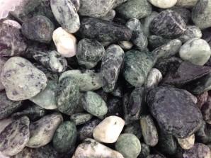 """Ziersteine/Zierkies """"Grundpreis 1,49 €/kg"""" Verde Alpi Ciottoli 15/25 im 10 Kg Sack"""