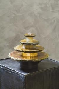 AUSSTELLUNGSSTÜCK! Zimmerbrunnen Ardo 19 Feng Shui Schieferbrunnen inkl. Beleuchtung