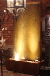 Zimmerbrunnen Cordon Gigant 220 | Feng Shui Brunnen Wasserwand inkl. Pumpe