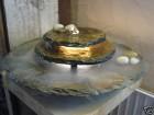 AKTIONSPREIS! Zimmerbrunnen Kasumi mit Nebler | Feng Shui Schieferbrunnen inkl. Beleuchtung