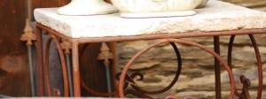 Eisen-Möbel für Heim & Garten