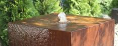 NEU ! CORTENSTAHL Brunnen