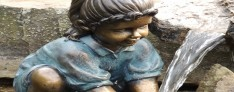 Gartenfiguren aus Polystone