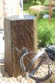 Wasserspiel SET: Quellstein Basalt 100 mit Quellschale inkl. Pumpe Becken | Springbrunnen