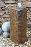 Wasserspiel kpl. SET: Quellstein Basalt inkl. Pumpe Becken | Springbrunnen Zierbrunnen