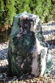 Wasserspiel kpl. SET: Quellstein Marmor Artik green 72 inkl. Pumpe Becken | Springbrunnen