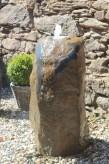 Wasserspiel SET Quellstein Basalt 100 Brunnen Gartenbrunnen Springbrunnen