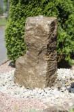 Wasserspiel SET: Quellstein Muschelkalk 95 inkl. Pumpe Becken | Springbrunnen