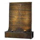 Zimmerbrunnen Gigant Wasserwand Cesar Fine 188 Buntschiefer Brunnen