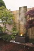 Zimmerbrunnen Geante 200 | Feng Shui Brunnen Wasserwand inkl. Beleuchtung