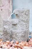 Wasserspiel kpl.SET: Quellstein Shugan Granit Bachlauf inkl. Pumpe | Becken