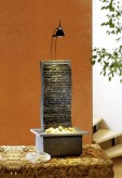 Zimmerbrunnen Suna | Feng Shui Schieferbrunnen inkl. Beleuchtung