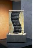 AUSSTELLUNGSSTÜCK! Zimmerbrunnen Guan 43 Feng Shui Schieferbrunnen inkl. Beleuchtung