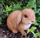 Hase Pummel | Polystone Figur für Haus und Garten Ostern Dekoration