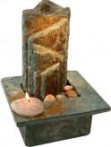 Zimmerbrunnen Serpentine 30 | Feng Shui Schieferbrunnen Wasserwand