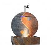 Zimmerbrunnen Ying Yang 75 | Feng Shui Brunnen Wasserwand rund