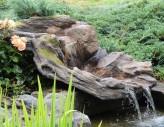 Bachlauf Yang-Ze L110cm| Polystone Wasserfall Bachlaufschale inkl. LED