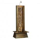Zimmerbrunnen Collier Feng Shui Schieferbrunnen Wasserwand inkl. Beleuchtung